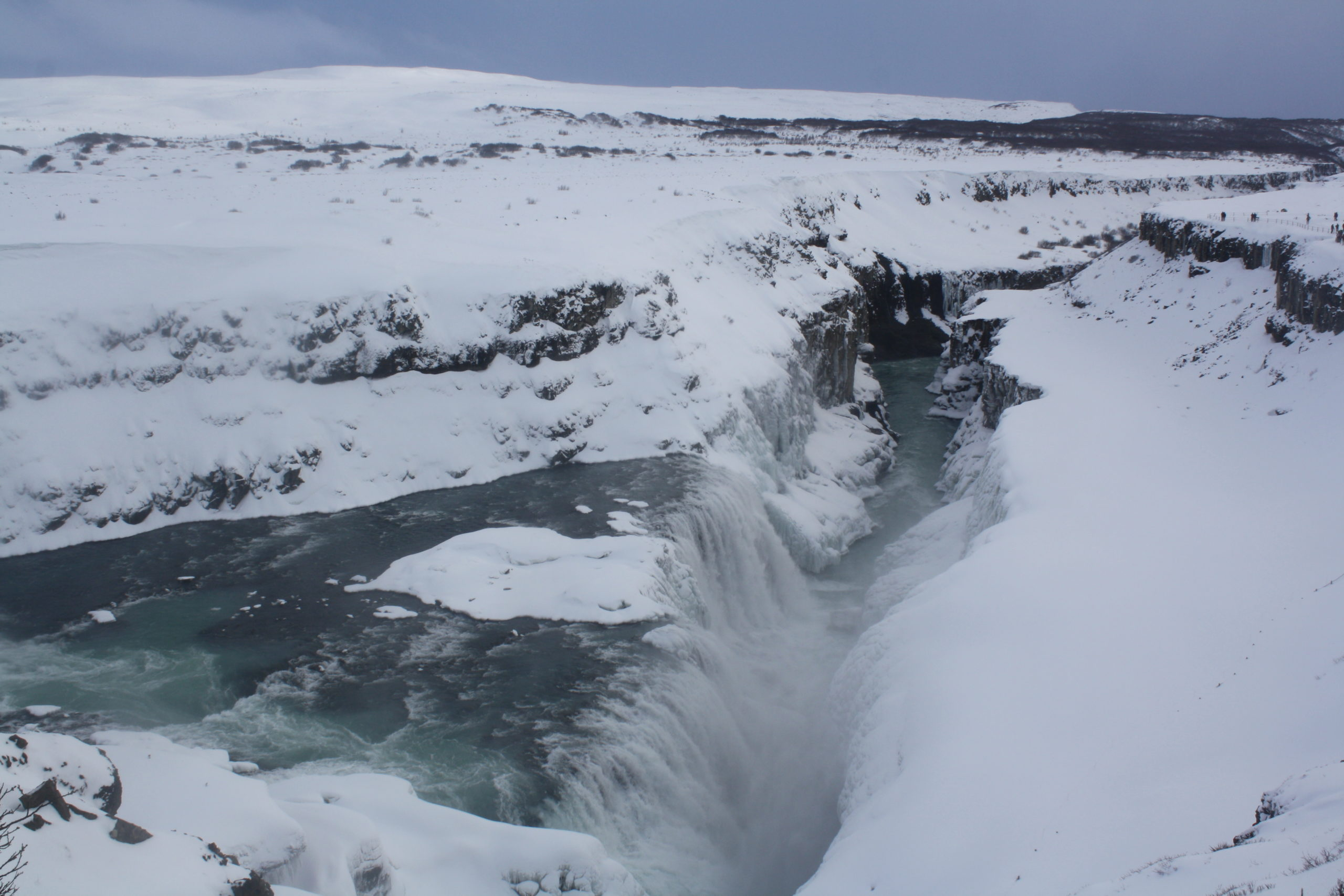 Iceland: waterfalls, snow, ice and a glacier